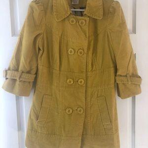 Anthropologie pea coat fall jacket